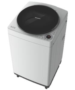 Sharp 8Kg Top Loading Full Auto Antibacterial Washing Machine ES-W80EW-H